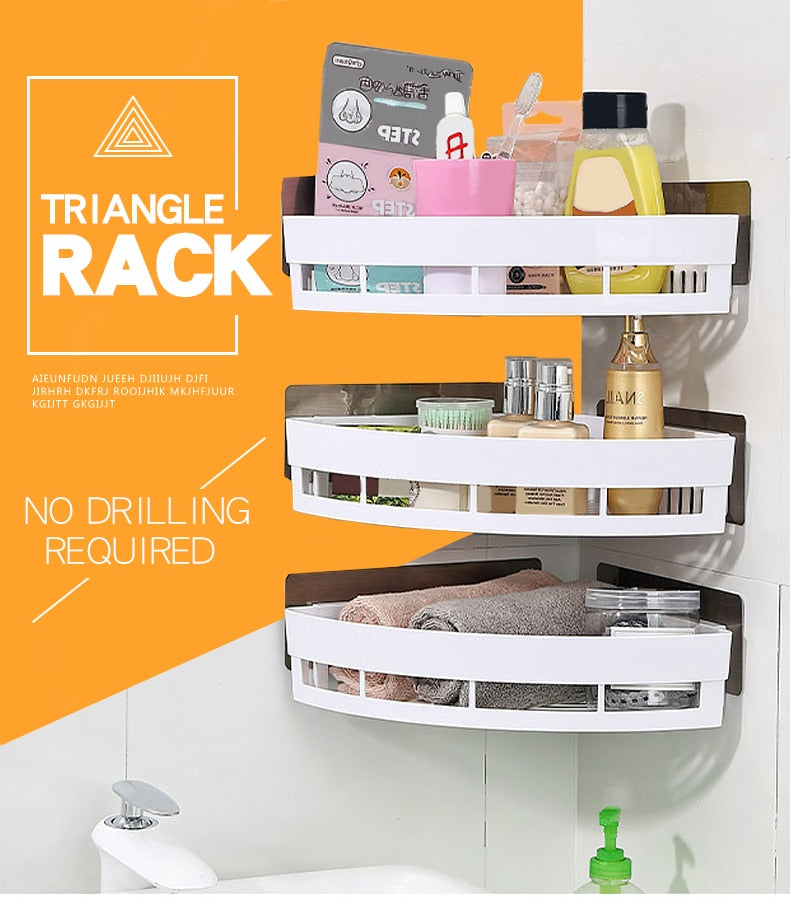 Kitchen Corner Organizer And Storage Spice Rack