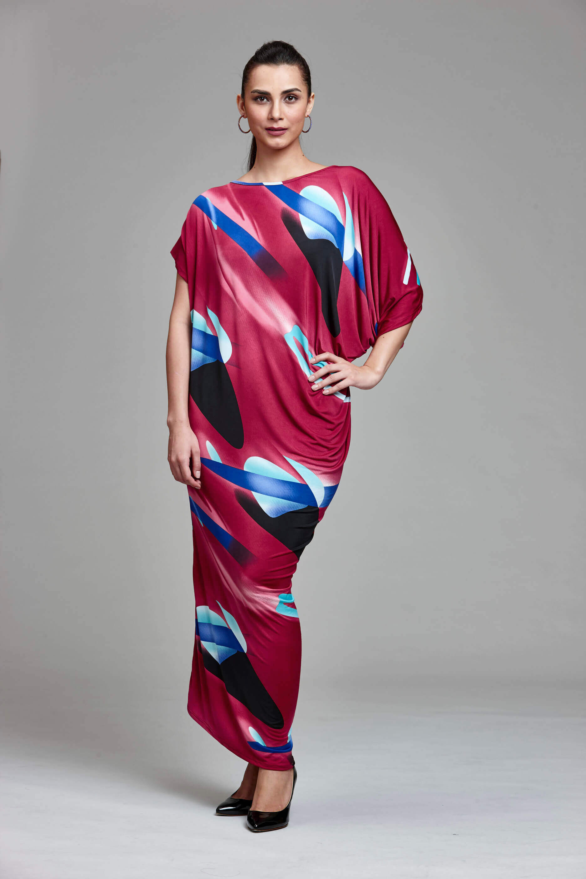 f2c6b1aeaff0 Maroon Print Maxi Dress & More to Discover Online at Straits Emporium
