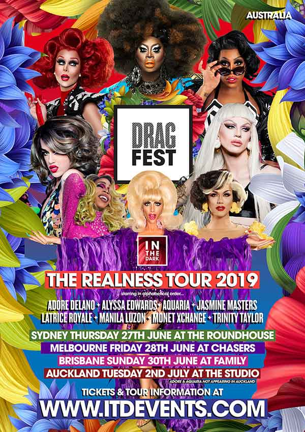 Official DRAGFEST 2019 Poster