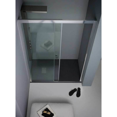 Porta box doccia 170 scorrevole Aquadesign Eight
