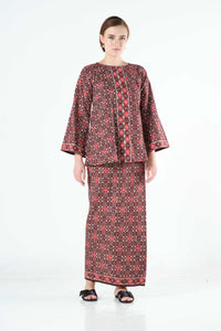 Zaqya Top in Maroon
