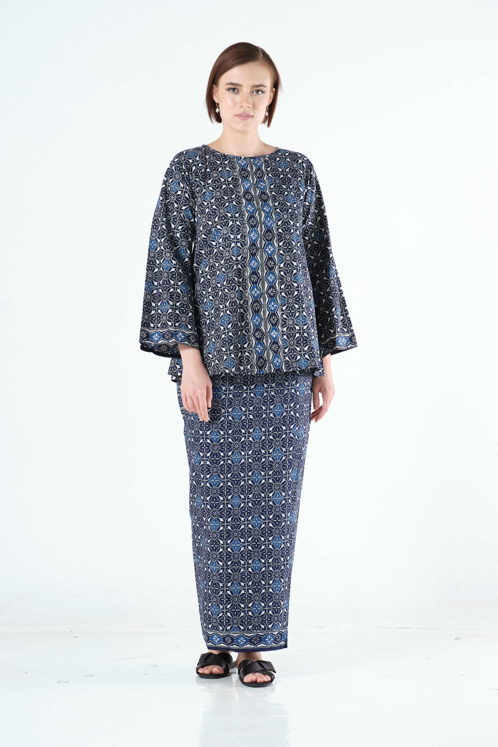 Zaqya Top in Blue