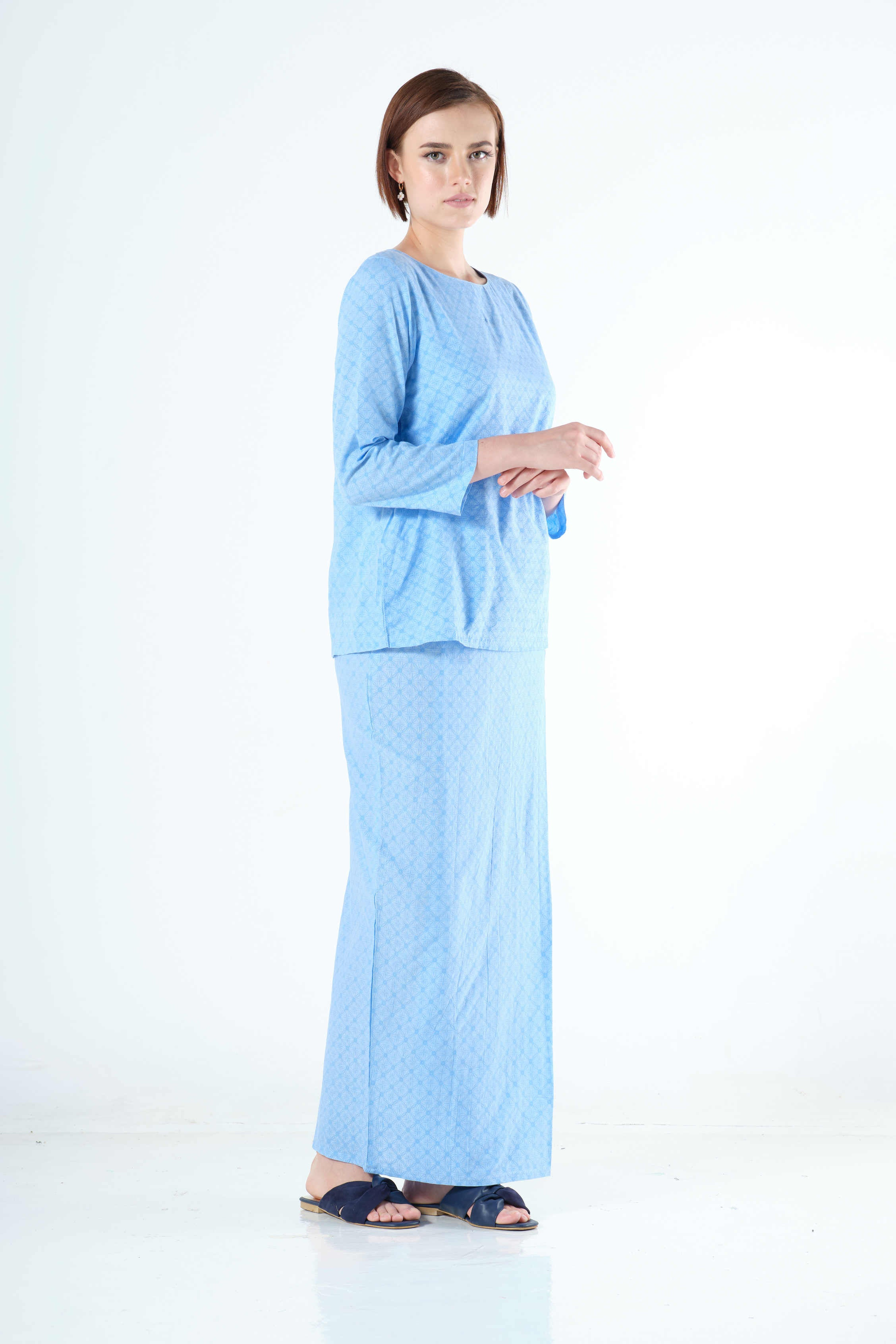 Zakida Top in light Blue
