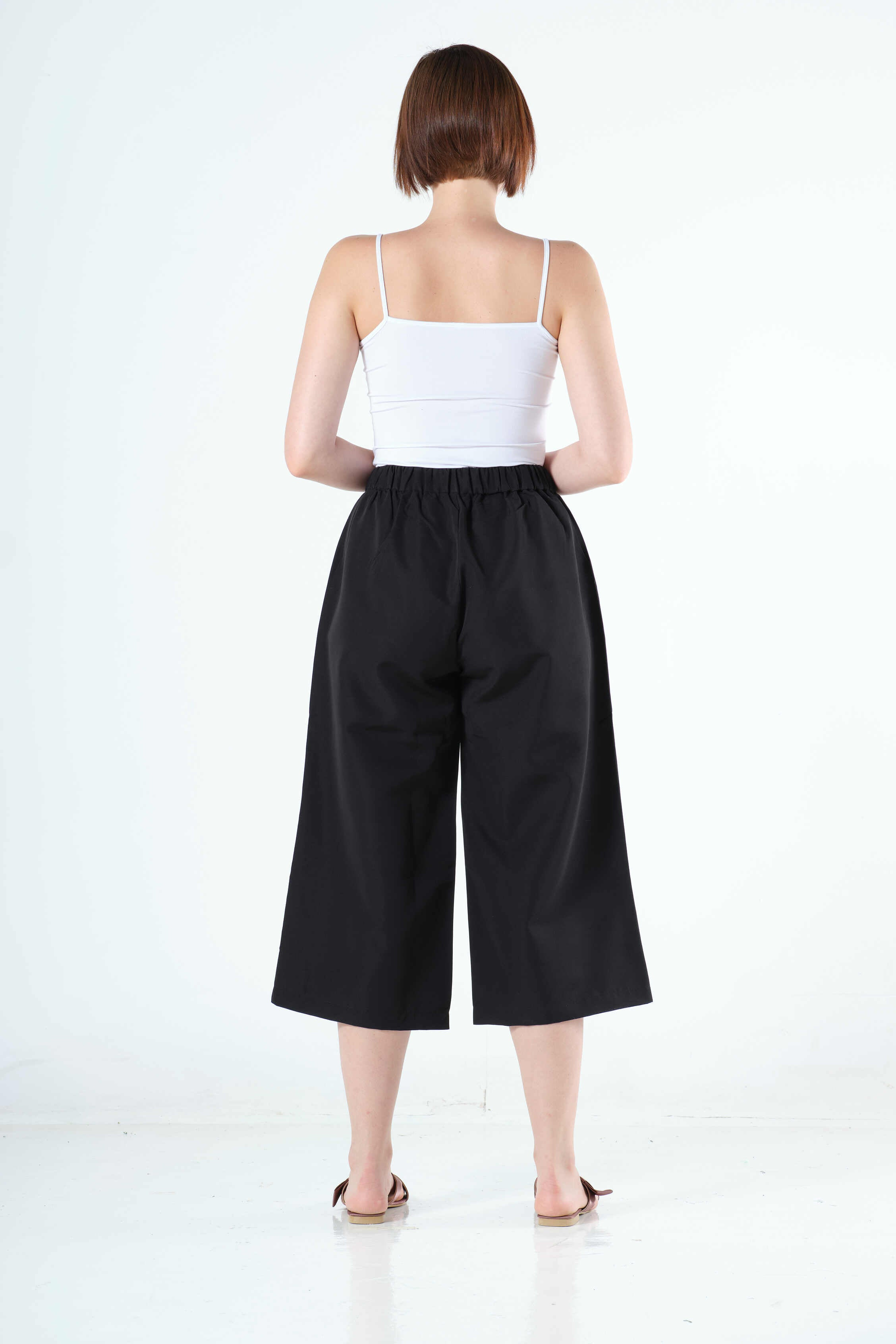 Joslyn Culottes in Black