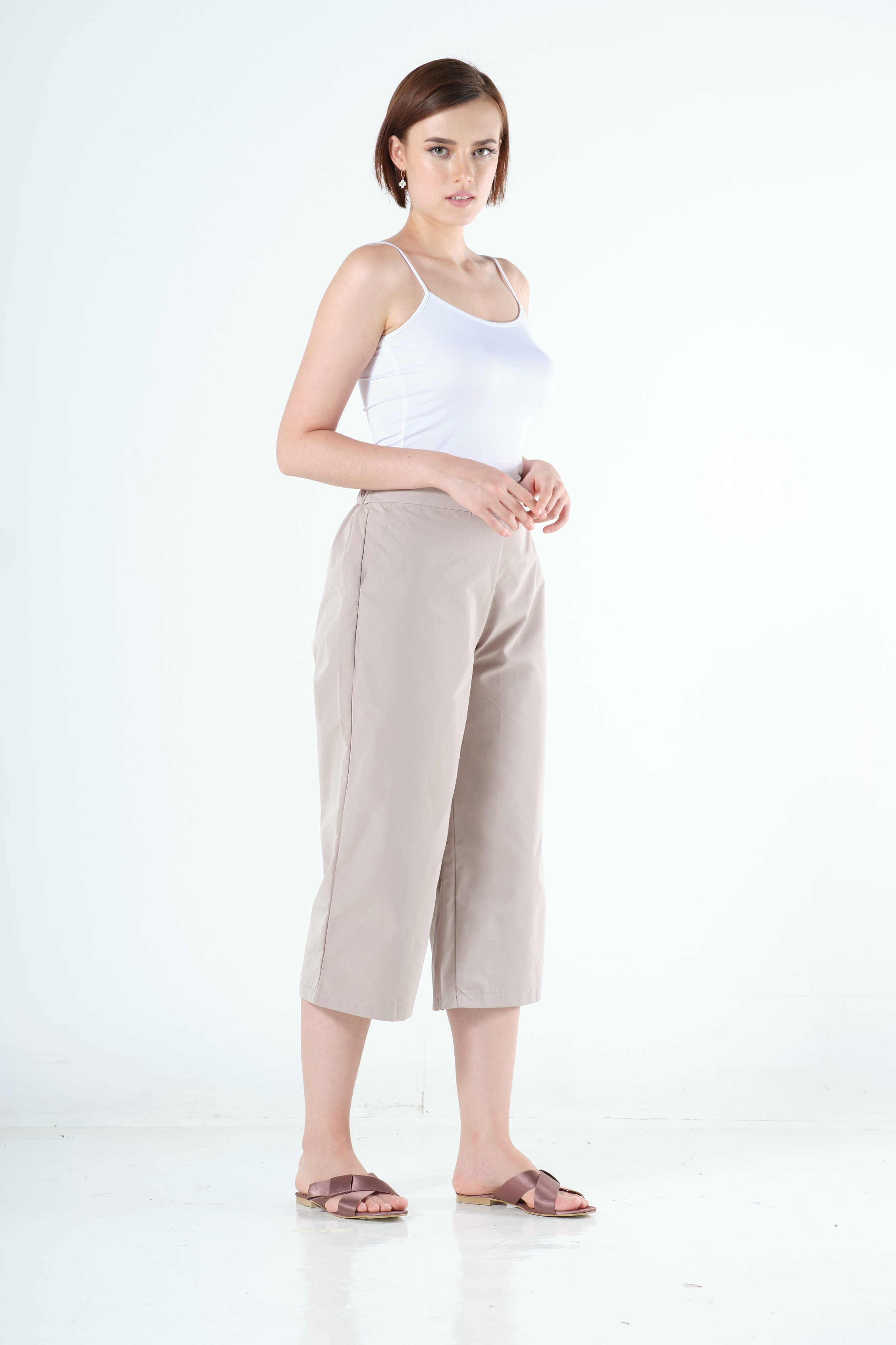 Joslyn Culottes in Brown