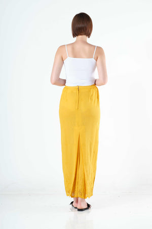 Saadah Sarung in Yellow