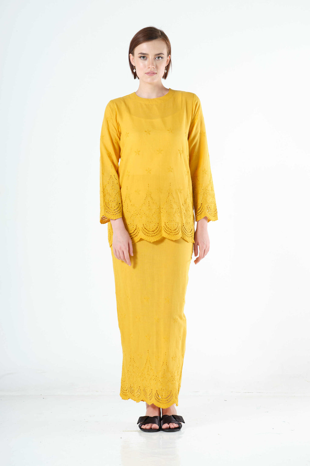 Saadah Top in Yellow