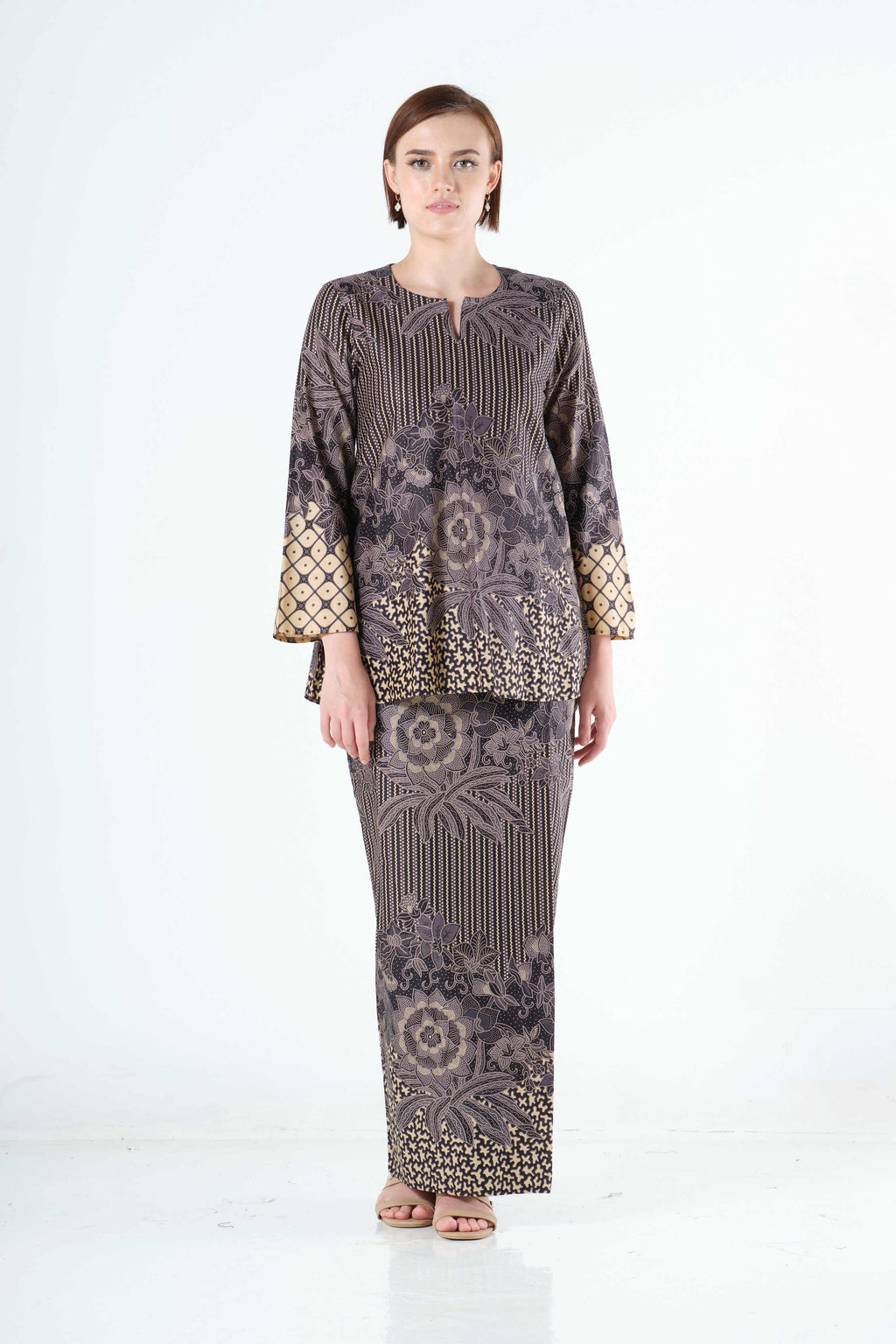 Saleha Top in Grey
