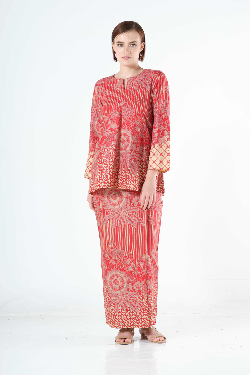 Saleha Top in Red