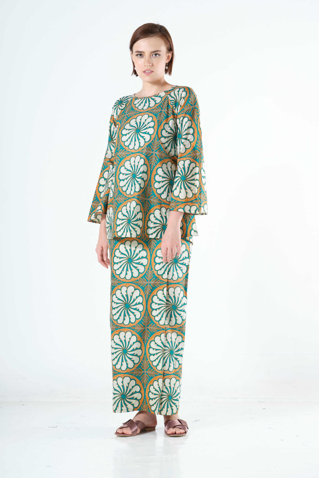 Saleema Top in Green