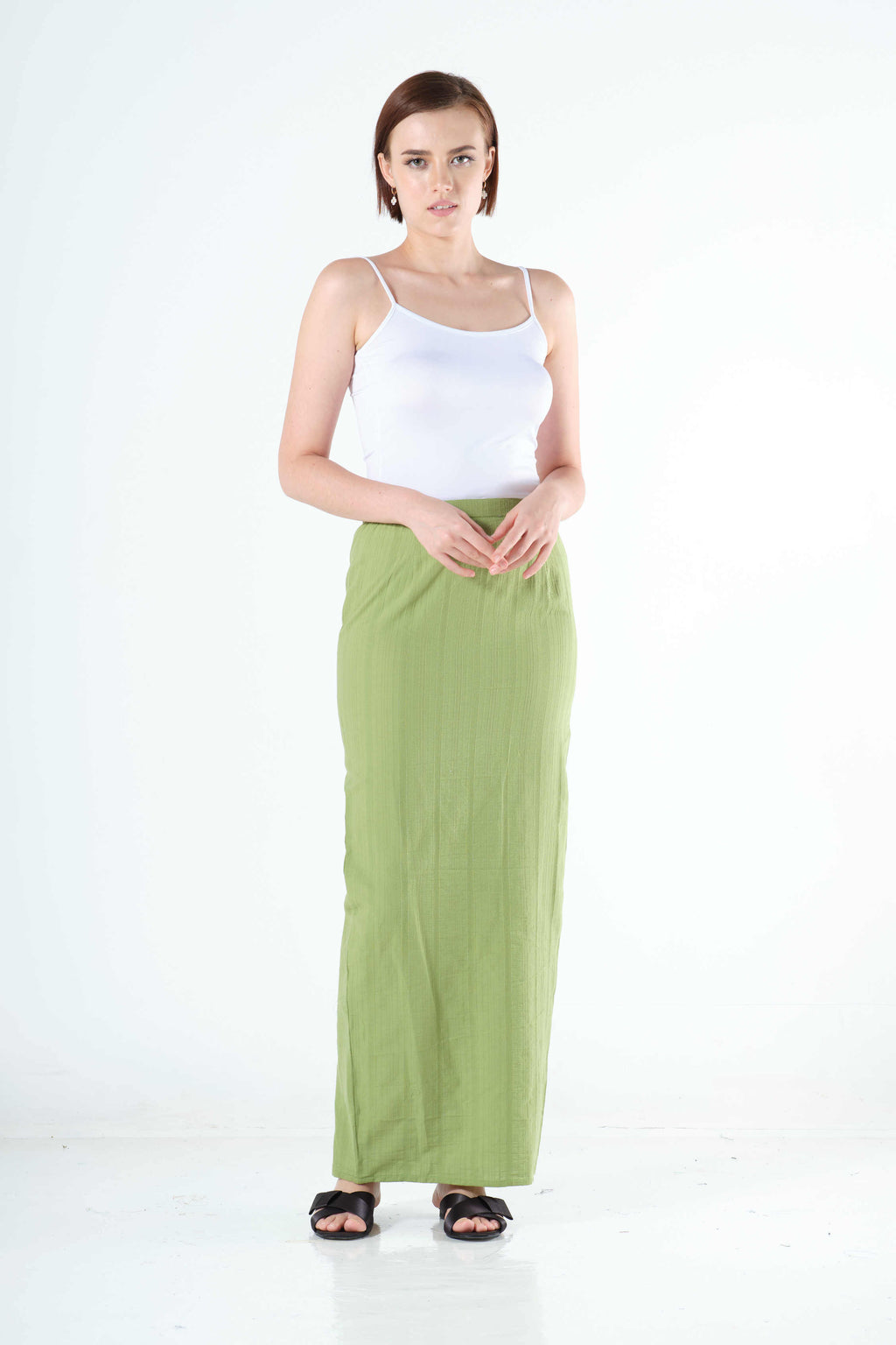 Syairah Sarung in Spring Green