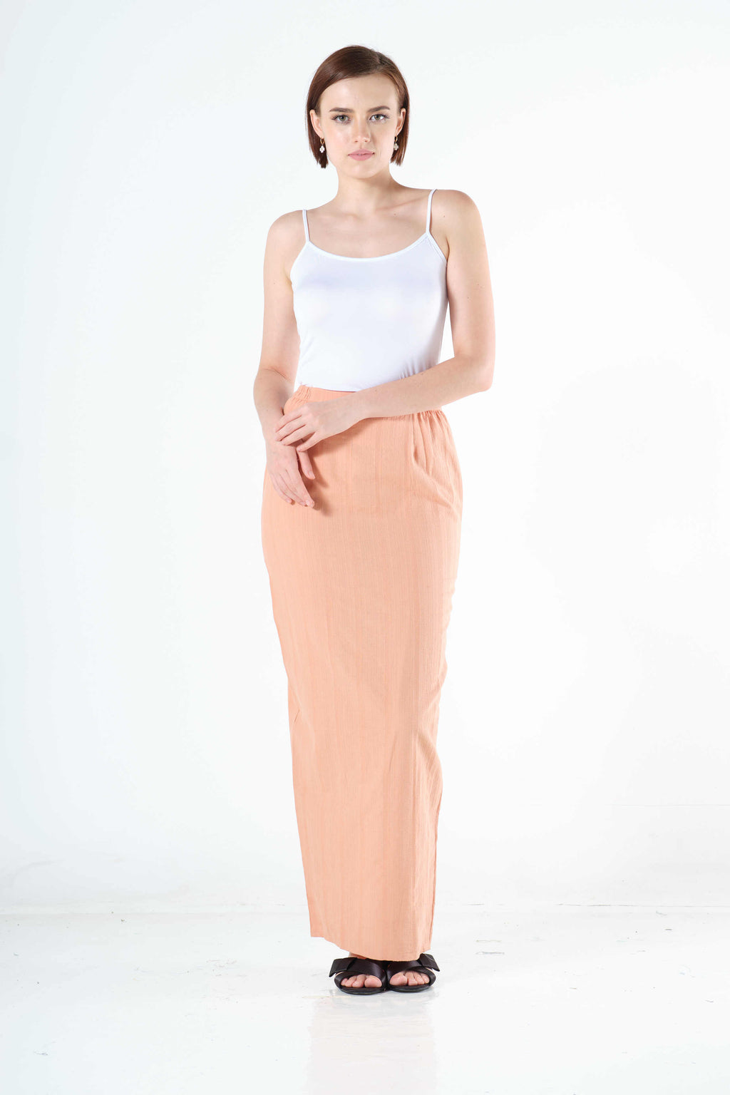Syairah Sarung in Peach