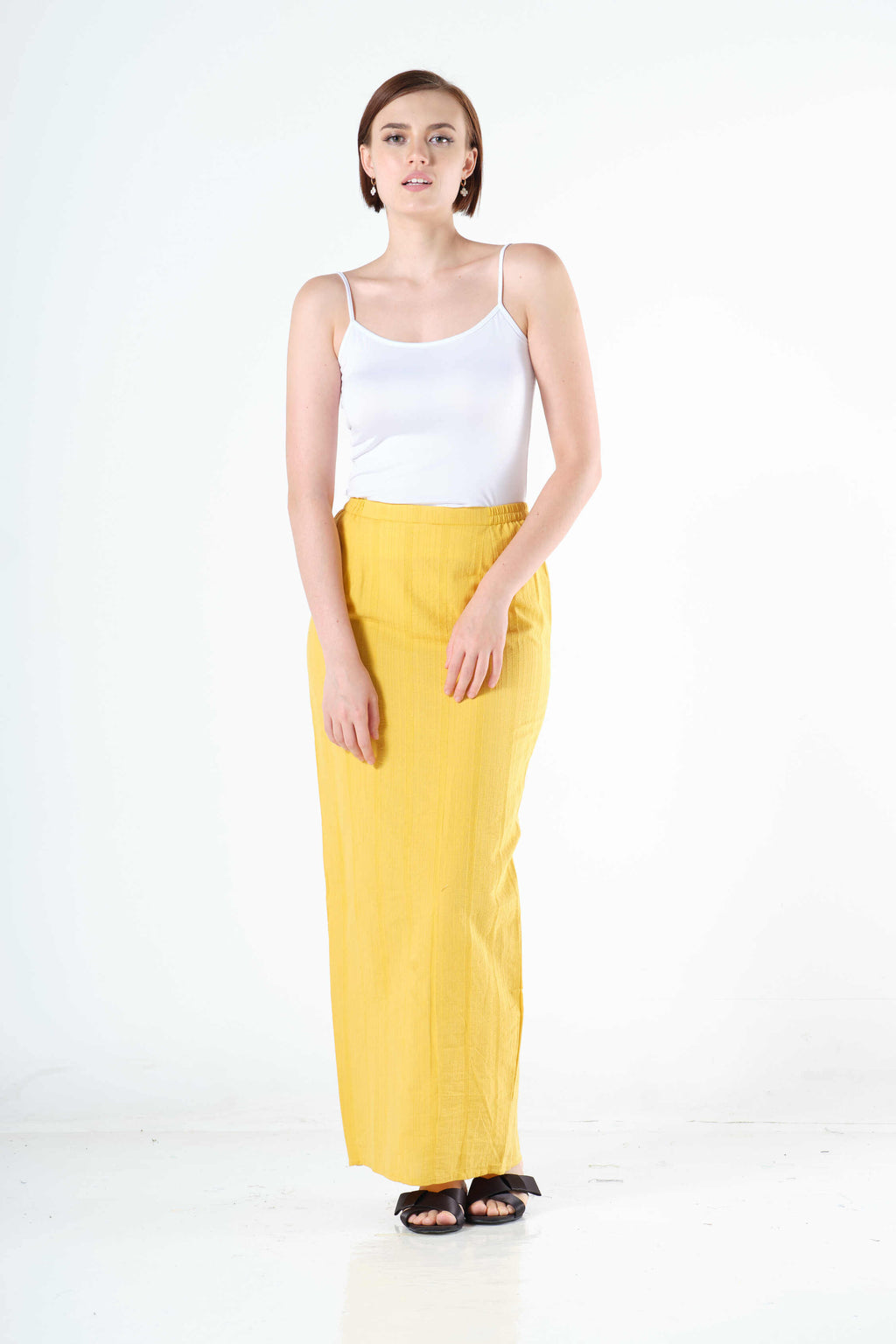 Syairah Sarung in Yellow