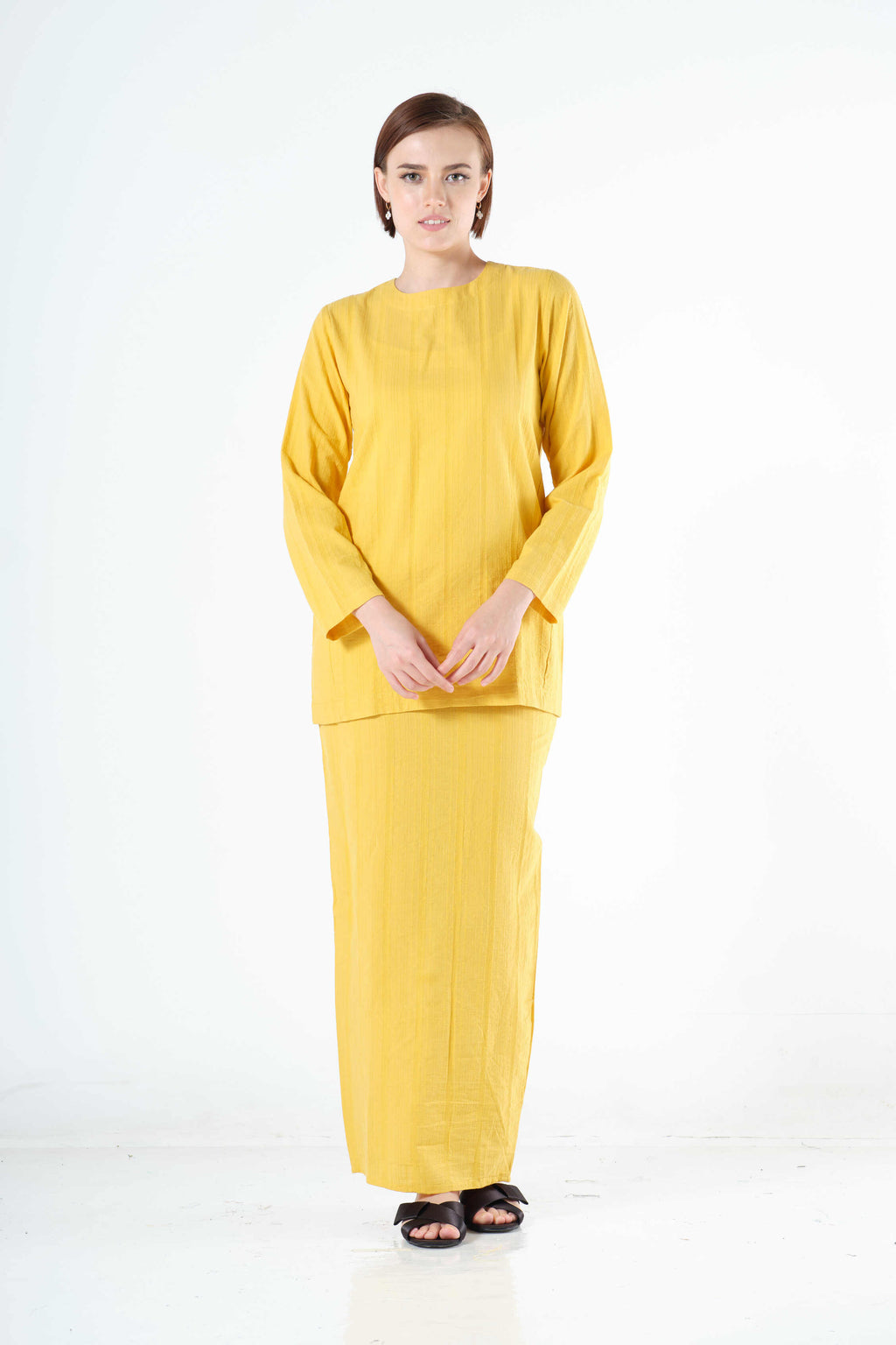 Syairah Top in Yellow