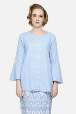 Maryam Top In Baby Blue