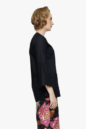 Maryam Top In Black