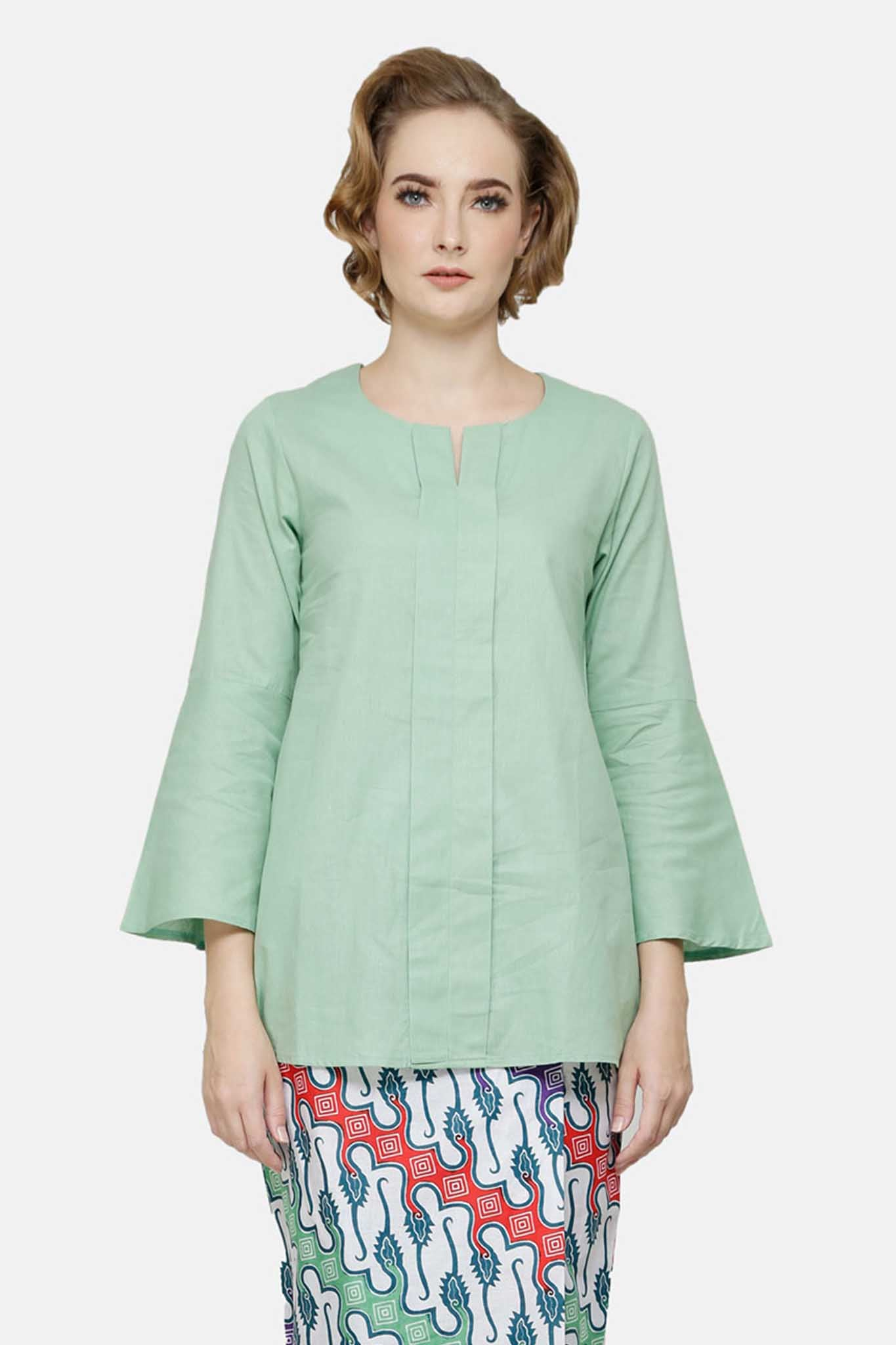 Maryam Top In Lime Green