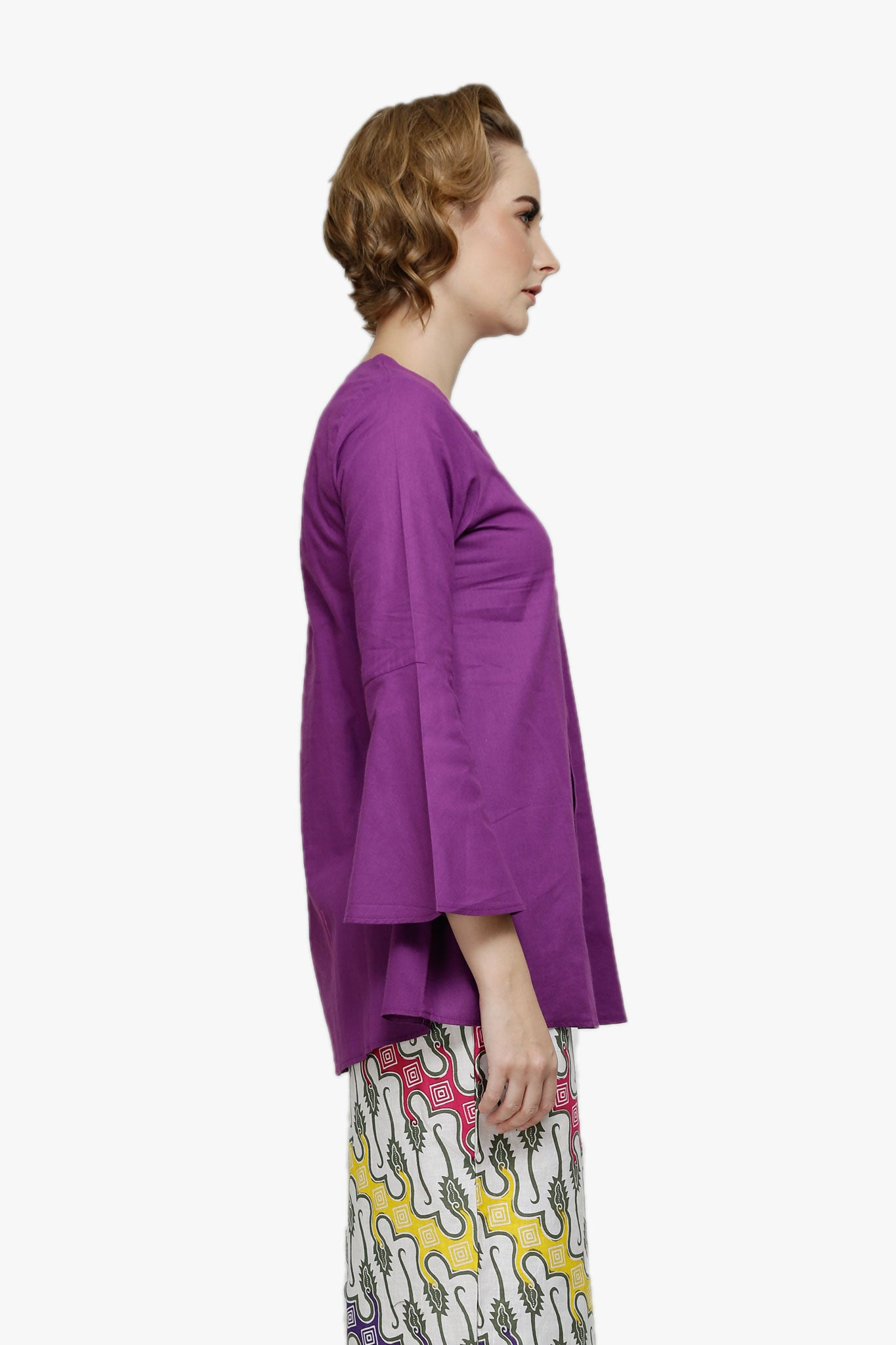 Maryam Top In Purple