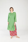 119 Fatimah Top in Spring Green