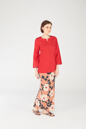 Norlida Top In Red