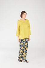 Norlida Top In Mustard