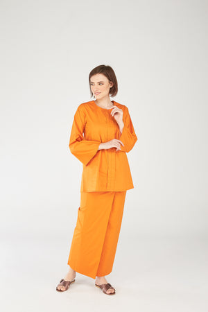 119 Maryam Top in Tangerine