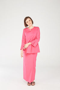Noriza Top in Royal Pink