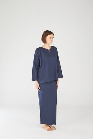 Nazirah Top in Dark Blue