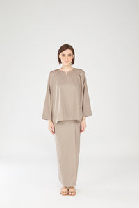 Nazirah Top in Grey