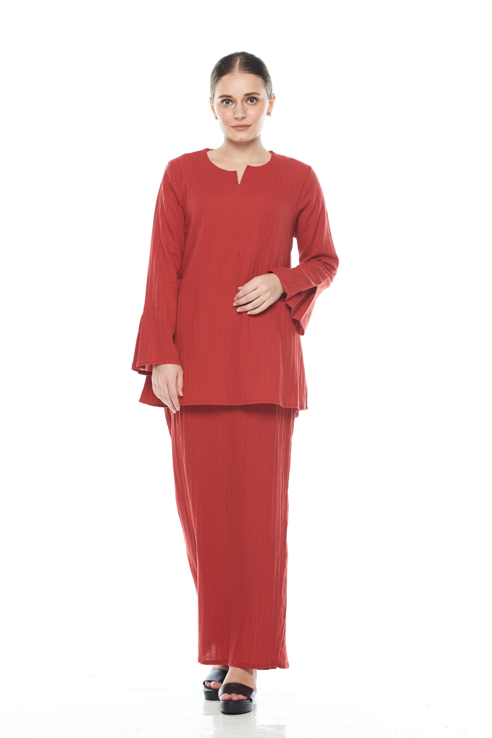 Saila Top in Red
