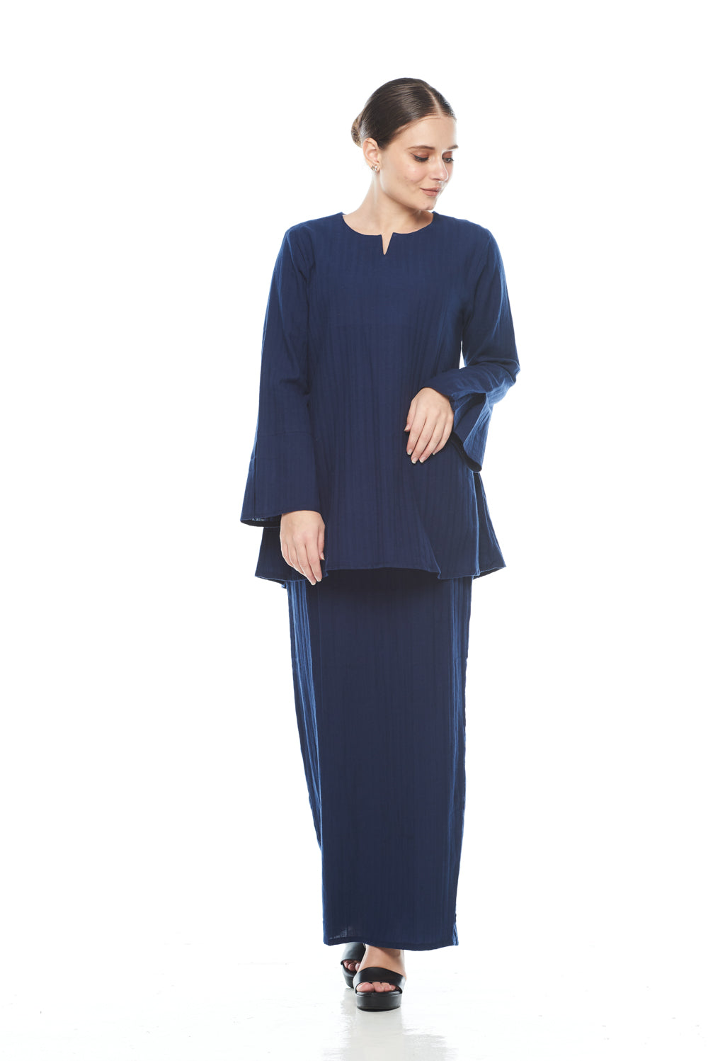 Saila Top in Dark Blue