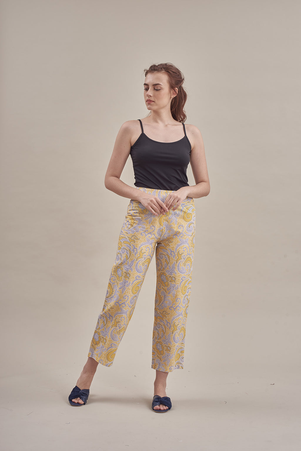 Kuntum Culottes in Yellow