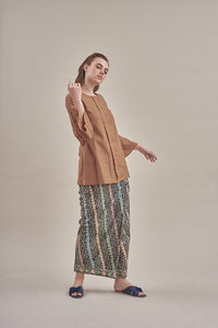 Maryam Top in Brown