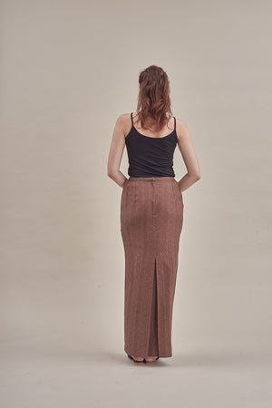 Skirt Dhoby in Plain Brown