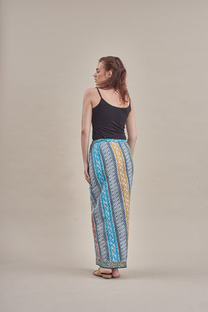Sarung - Suni (O) in Ash Blue