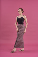 Sarung - Noriza in Purplish Grey