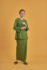 Noriza Top in Spring Green