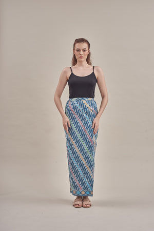 Sarung - Sana (PG) in Ash Blue
