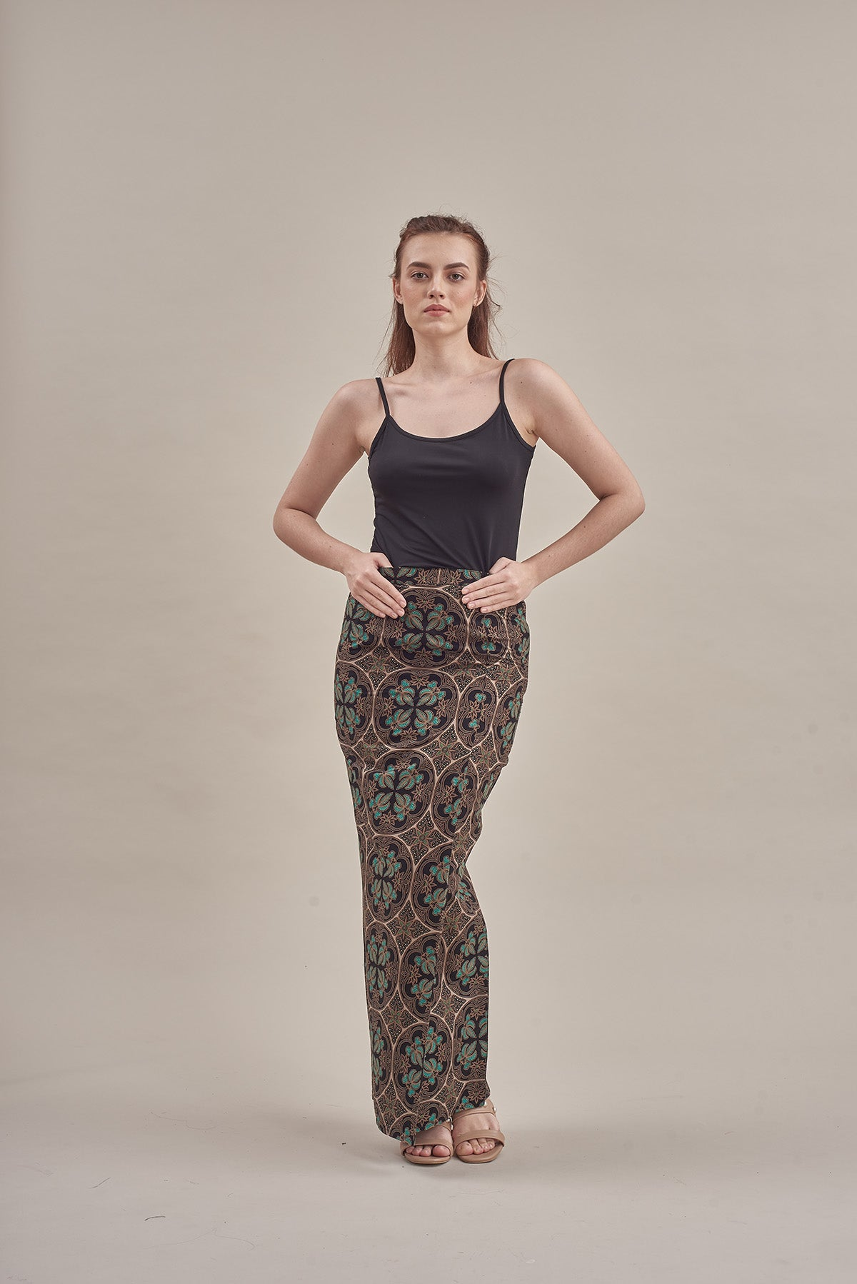 Sarung Nora in Green