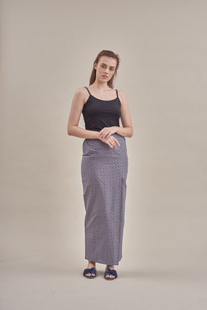 Sarung - Zakida in Grey