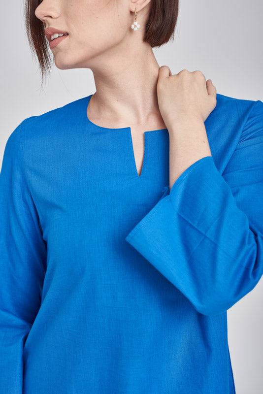 Norlida Top In Royal blue