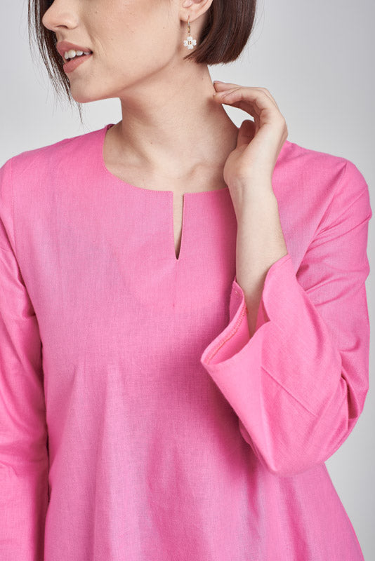 Norlida Top in Pink