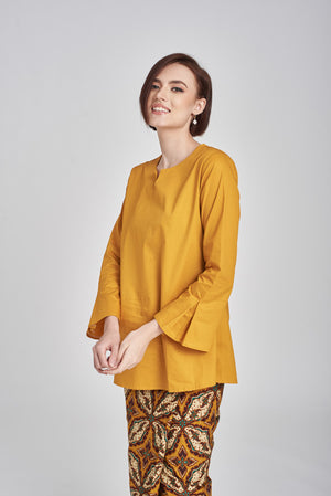 Noriza Top in Mustard