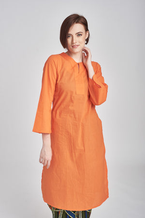 Fatimah Top in Orange