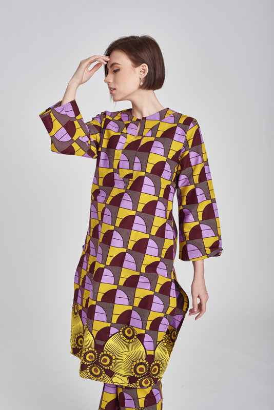 TOP Aidah in Purple