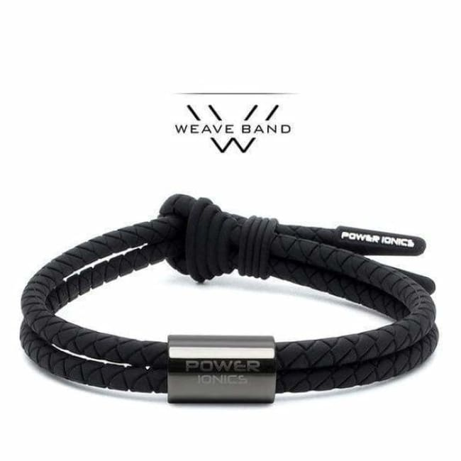 Bracelet Ion Balance Titane - Mixte / PI ANION 3000 - Black GunGrey
