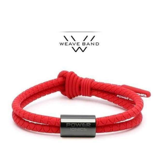 Bracelet Ion Balance Titane - Mixte / PI ANION 3000 - Red GunGrey