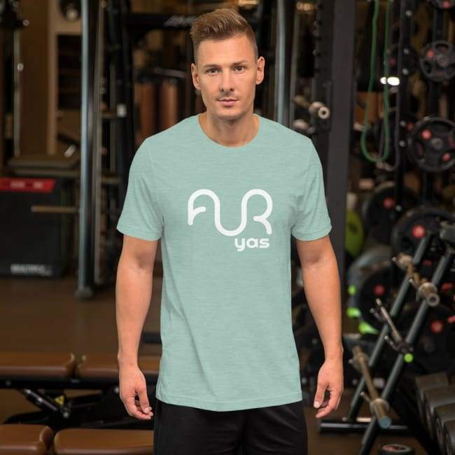 T-shirt Homme Heather Mint