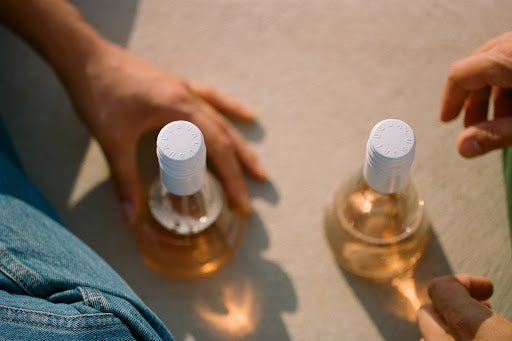 Natural wine: Usual Wines rose bottles