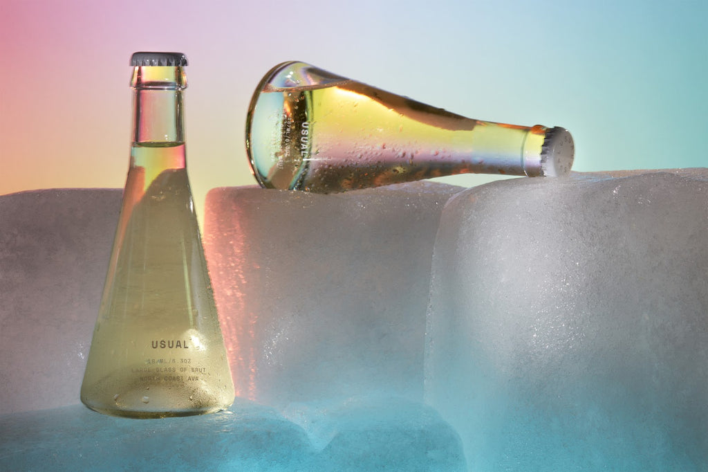 Wine Temperature: Sparkling wine on ice